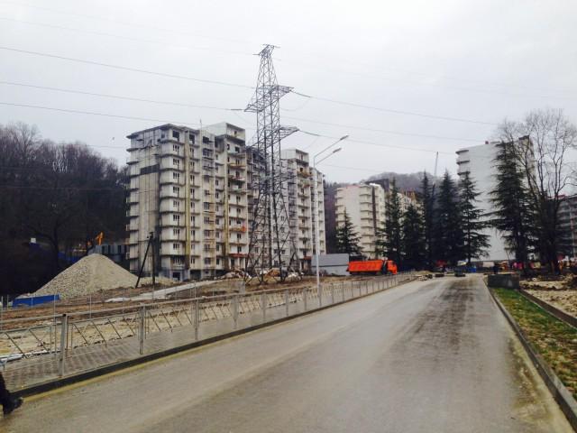 proectnie raboti, avtorskii nadzor  mnogokvartirnie zhilie doma Sochi